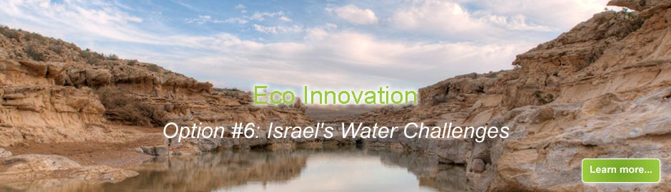 Israel's Water Challenges
